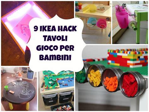 ikea tavoli per bambini 9 ikea hack di tavoli per bambini mercatino dei piccoli