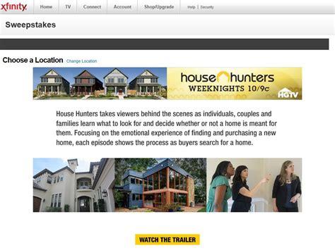 house hunters sweepstakes - House Hunters Sweepstakes