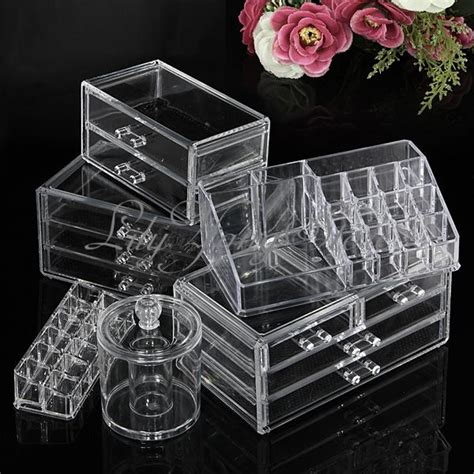 Clear Makeup Drawer Organizer by Cosmetic Clear Makeup Lipstick Brush Holder Organizer