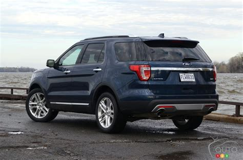 ford explorer 2017 2017 ford explorer does just on 4 cylinders car