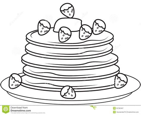 coloring pages of pan cake pancake coloring pages jacb me