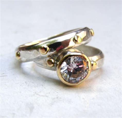 set wedding band ring engagement ring similar