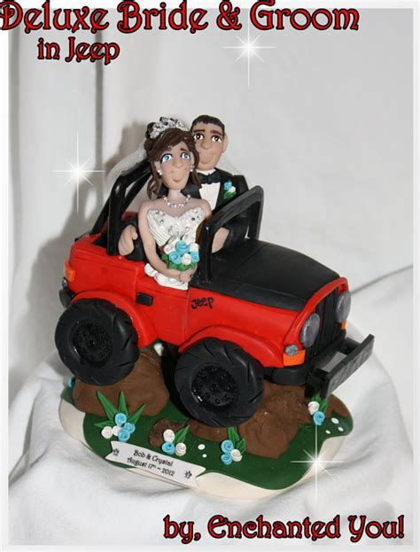 jeep cake topper deluxe jeep wedding cake topper