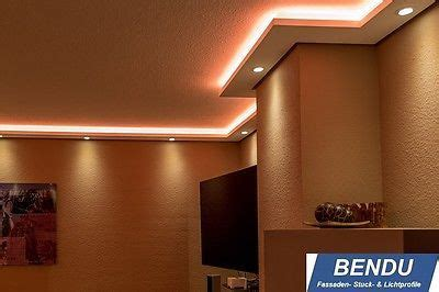 details zu bendu led stuckleisten f 252 r indirekte - Stuckleisten Badezimmer