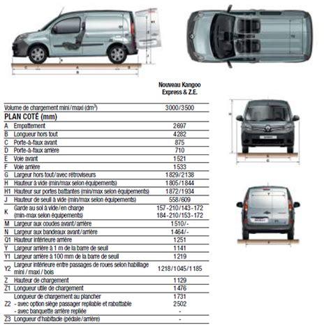 renault kangoo dimensions acheter renault kangoo 3 express blanc 2015 diesel 10