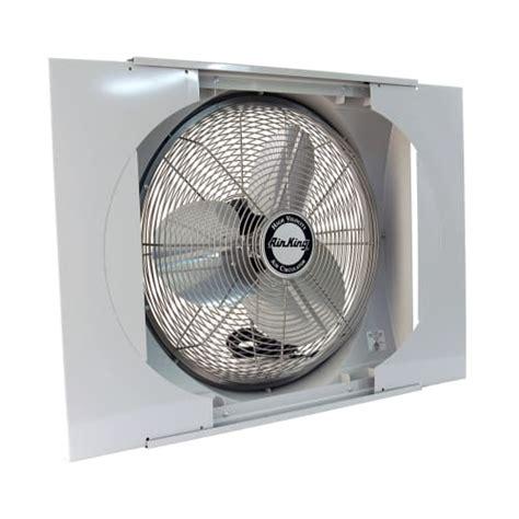 window mount whole house fan air king 9166 20 inch 3560 cfm whole house window mounted