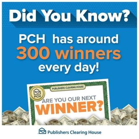 Winner Of Pch - did you know there are lots of pch winners pch blog