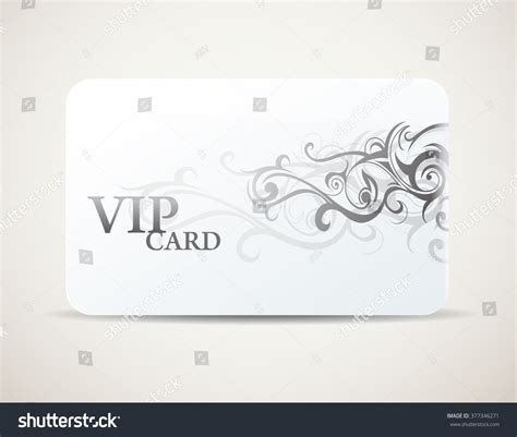 vip discount card template vip card access minimalistic design tribal 스톡 벡터 377346271