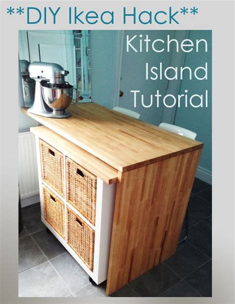 Ikea Hack Diy Kitchen Island Tutorial | stove craft tables and dishwasher reviews on pinterest