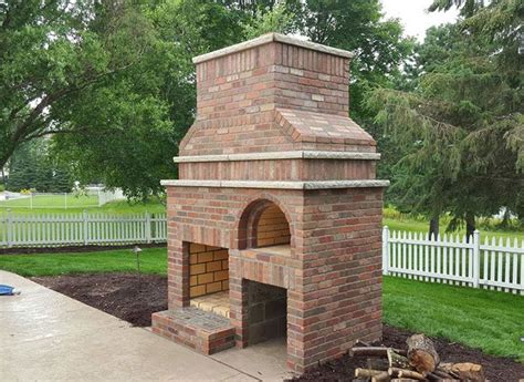 Backyard Wood Fired Pizza Oven Outdoor Fireplace Amp Wood Fired Pizza Oven By Brickwood