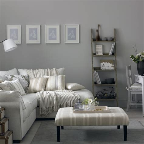 small living room ideas grey grey living room with corner sofa and modern artwork