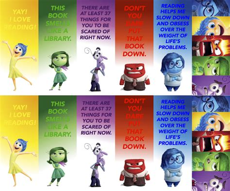 printable inside out bookmarks bust out your crayons
