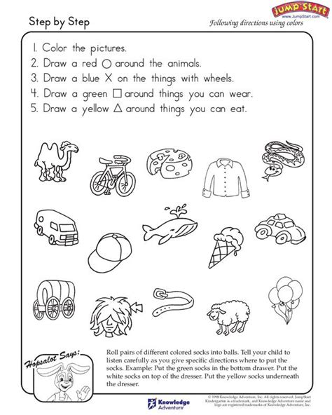 2 948 free listening worksheets best 25 following directions activities ideas on pinterest