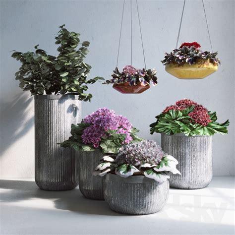 pottery barn planters 3d models plant pottery barn planters