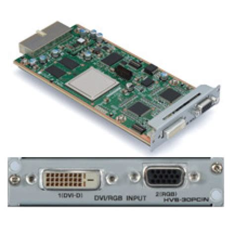 Vga Card Add On for a hvs 30pci pc dvi vga input card for hvs 300hs