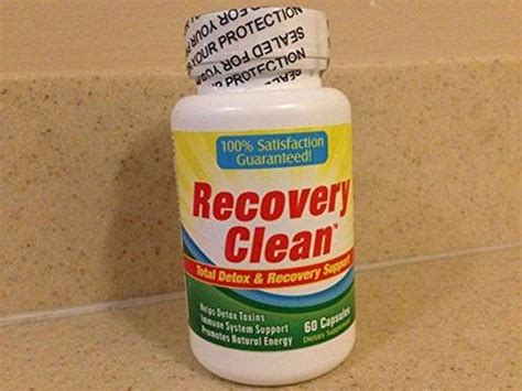 Advanced Recovery Solutions Detox by Herbal Detox Cleanse Pills Recovery Clean Chickadee