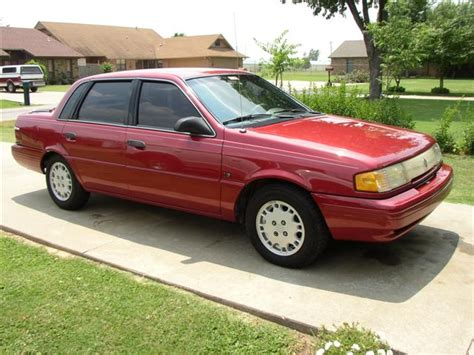 1992 mercury topaz information and photos momentcar