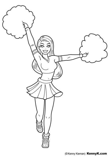 disegno da colorare cheerleader cat