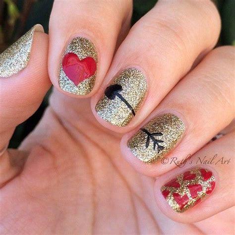 imagenes de uñas decoradas para san valentin u 241 as decoradas san valent 237 n el nail art m 225 s rom 225 ntico