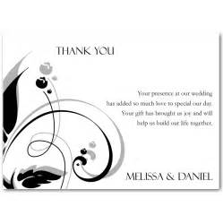 thank you note wedding invitation wedding invitation ideas