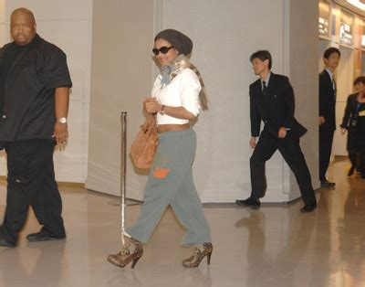 Janet Jackson Arrives In Japan 2 news janet jackson arrives in japan to promote
