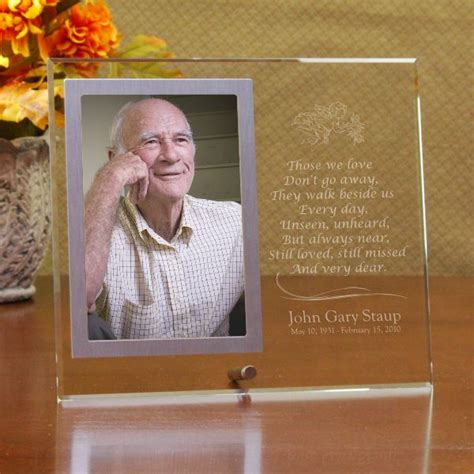 memorial picture frames s always in our hearts memorial picture frame
