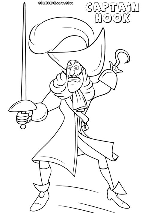 captain hook coloring pages coloring pages to download