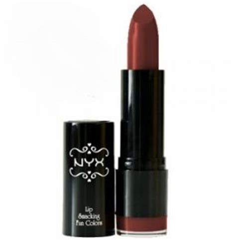 Lipstik Nyx Merah Maroon nyx lipstick hestia v wine maroon burgundy price review and buy in uae dubai