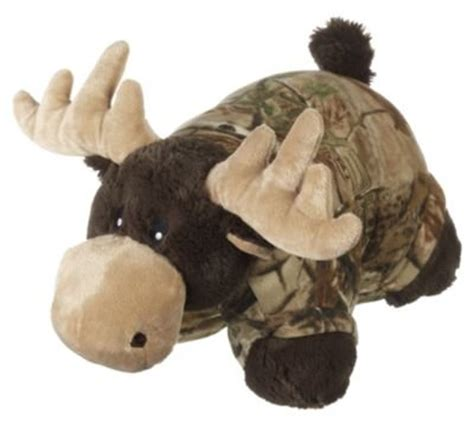 Moose Pillow Pets by Max Metcalfe Pillow Pet Realtree Camo Stuffed Animal Moose