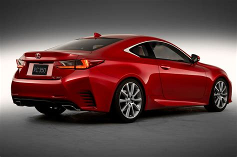 2015 Lexus Coupe 2015 Lexus Rc Rear Three Quarters Photo 2