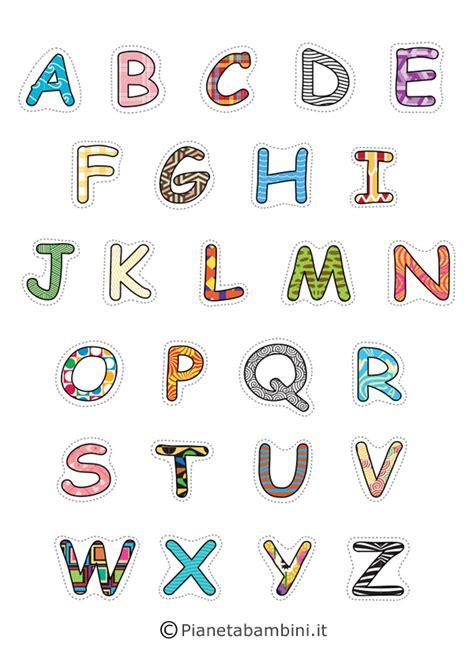 lettere da stare colorate lettere colorate da ritagliare 28 images lettere dell