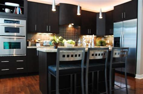 modern kitchen dark cabinets kitchen