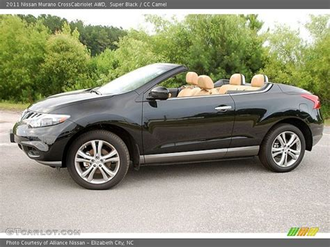 nissan crosscabriolet black 2011 nissan murano crosscabriolet awd in super black photo
