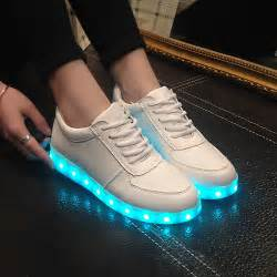 s light up shoes big size 2015 fashion light up casual shoes usb