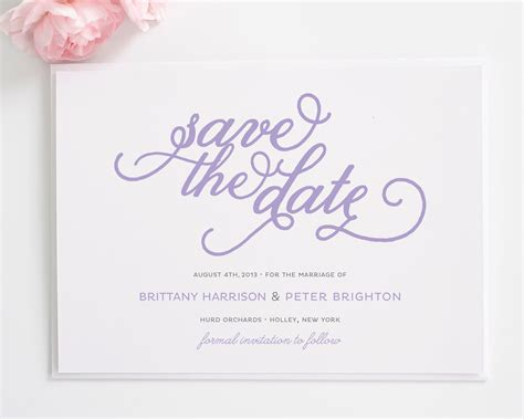 Save The Date Cards by Classic Whimsy Save The Date Cards Save The Date Cards