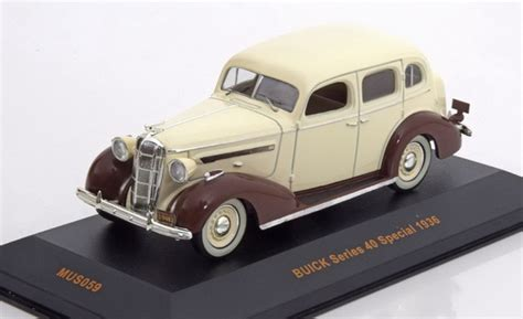 buick series 40 special year 1936 beige brown museum mus059 ean 4895102321018 модель 1 43 buick series 40 special 1936 beige brown