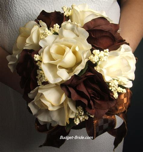 Brown Bridal by Wedding Flowers Brown Roses Wallpapers 2012