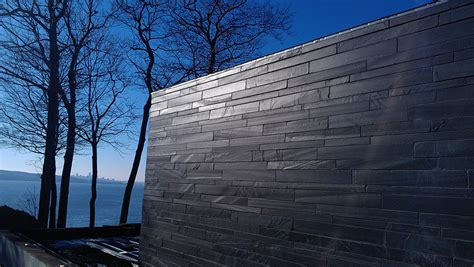 Mur Exterieur by Mur Ext 233 Rieur En Ardoise Pierres Technoprofil