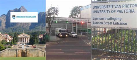list of best universities list of top 10 universities in south africa 2018 victor