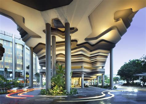 Vivood Landscape Hotel Archshowcase Parkroyal In Pickering Singapore By Woha