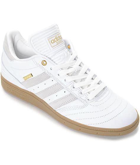adidas busenitz 10 year anniversary white gum shoes zumiez