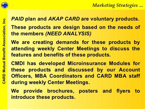 Advantage Of Mba In The Philippines by Card Mba Challenges In Marketing Microinsurance Products