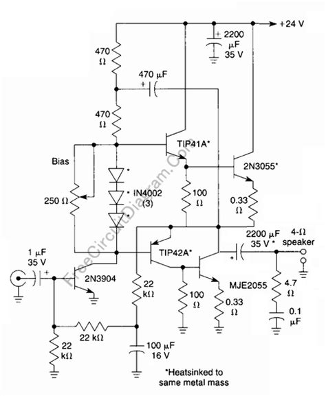 transistor guitar lifier schematic portable guitar circuit diagram guitar maintenance elsavadorla