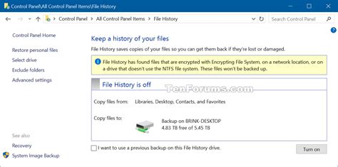 windows 10 homegroup tutorial recommend file history drive to homegroup in windows 10
