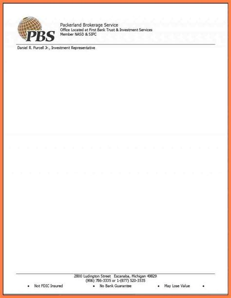 business letterhead size company letterhead template word templates church sles