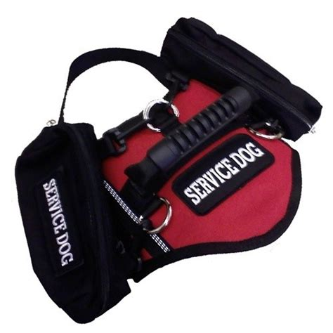 service dog vest harness saddlebag service dog vest harness