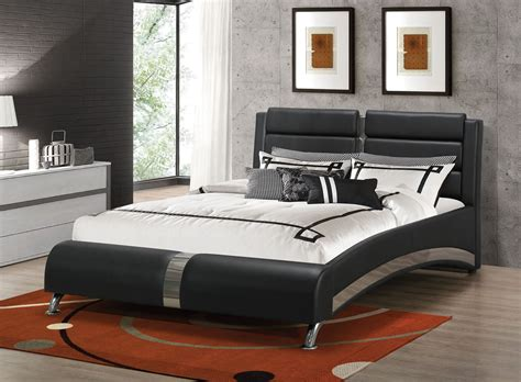 black california king bed jeremaine black cal king upholstered platform bed from