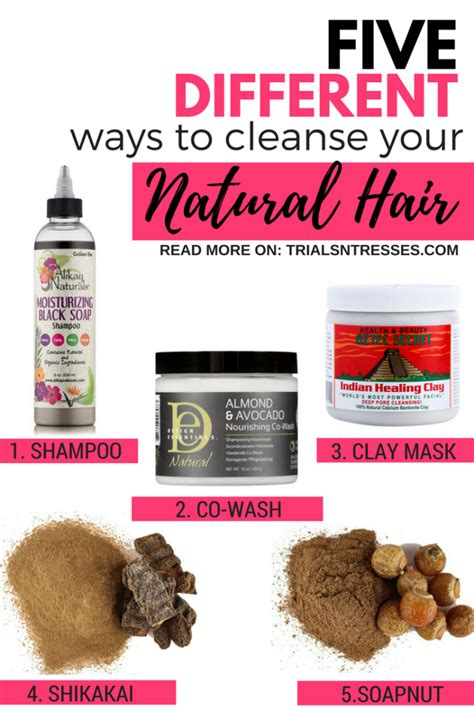 How To Detox Your Hair Naturally by 5 Different Ways To Cleanse Your Hair Trials N