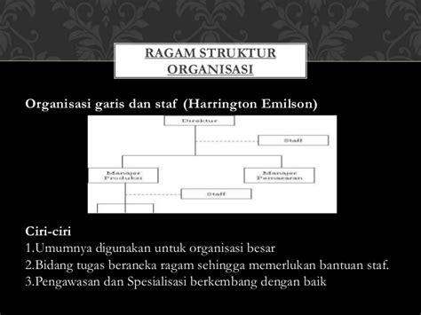membuat struktur organisasi garis dan staf gambar 8 struktur organisasi pemerintahan kecamatan