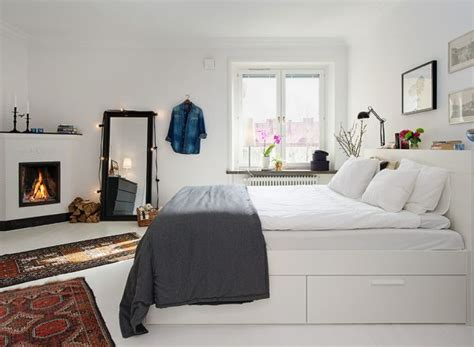 The All White Bed Style 35 Scandinavian Bedroom Ideas That Looks Beautiful Modern